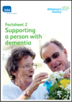 factsheet 2 supporting a person with dementia