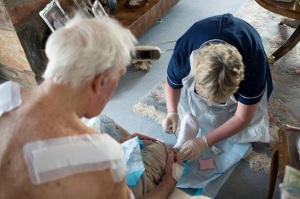 1299545_District-community-elderly-blood-home-patient-dressing-wound-care
