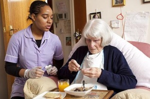 Care-home-patient-nurse-meal-food