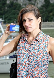 Daily Mail investigation into foreigners being able to use the European Health Insurance Card easily in their own countries.  Hungarian woman, Annamaria Horvath attempts to use her British issued, EHIC card in various clinics around Budapest.